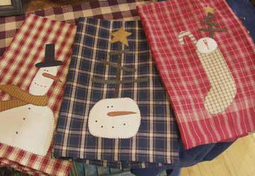 BC134 Snowman Tea Towels