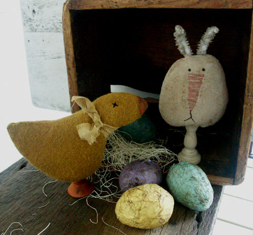 BC122 Easter Make-Dos - Bunny and Chick
