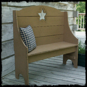WN121 Primitive Star Bench