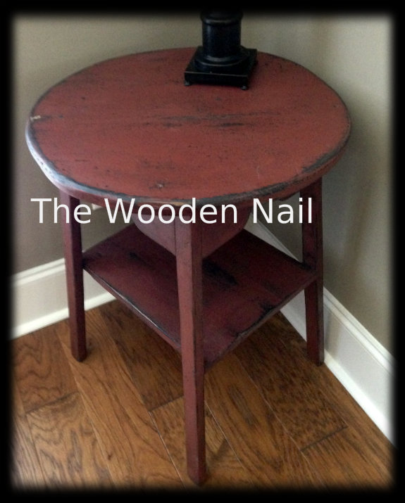 WN122 Prim Round top Table