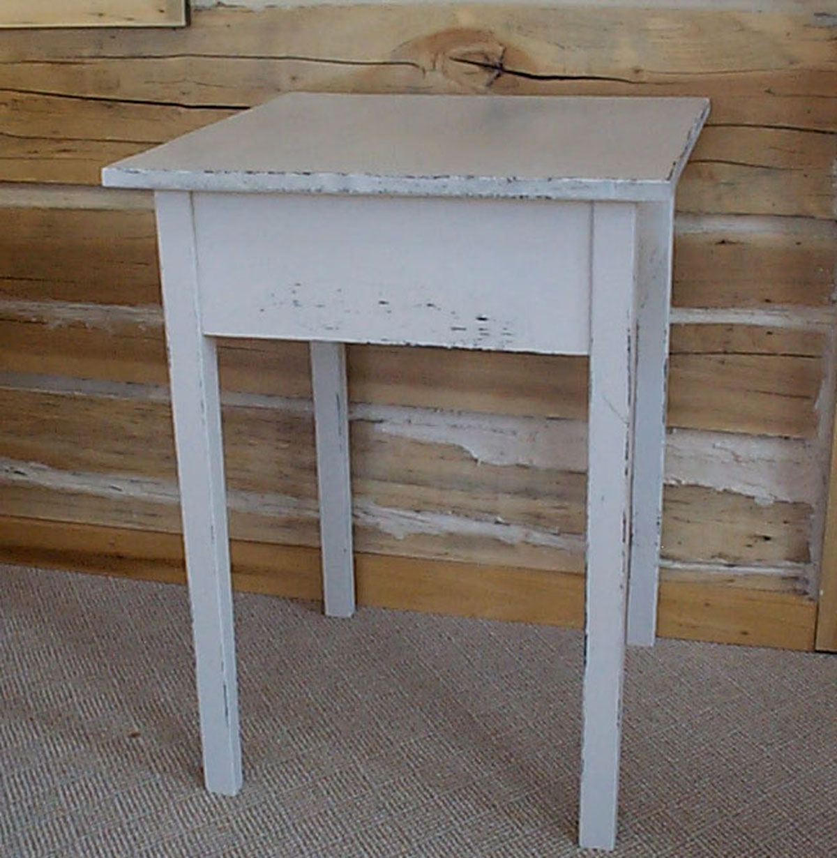 WN127 Primitive End Table