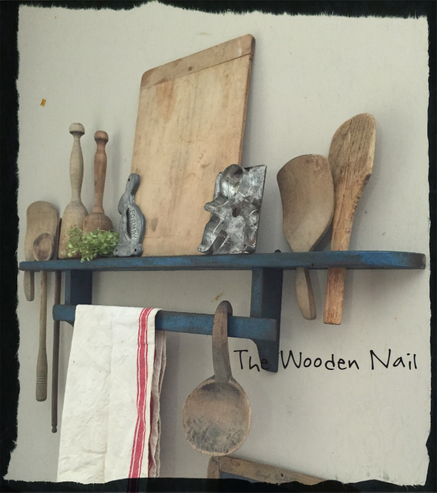 WN173 Spoon/Treenware/Towel Shelf